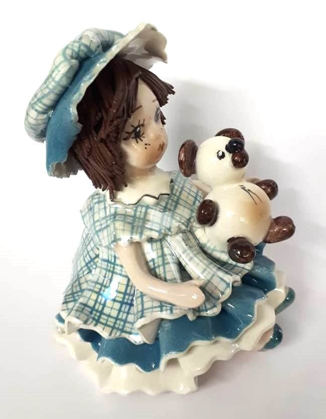 Фарфоровая статуэтка «Девочка» Zampiva