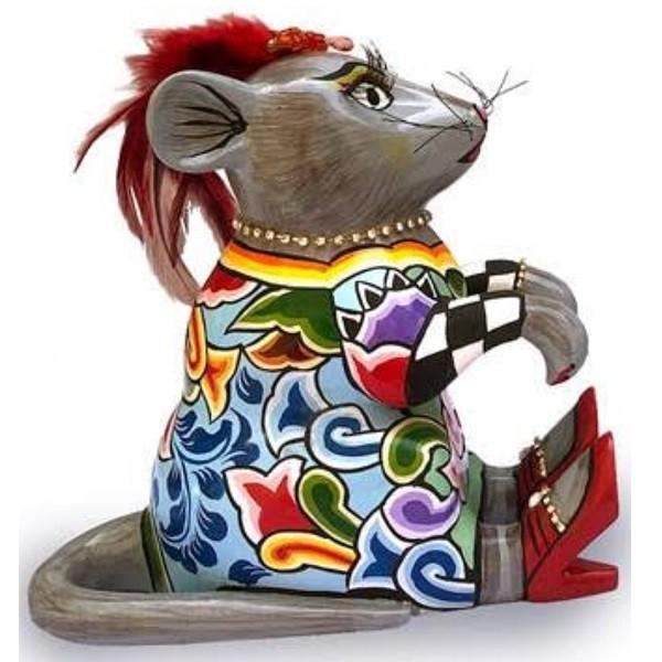 Статуэтка мышь «Огонек» (большая) коллекция Томаса Хоффмана