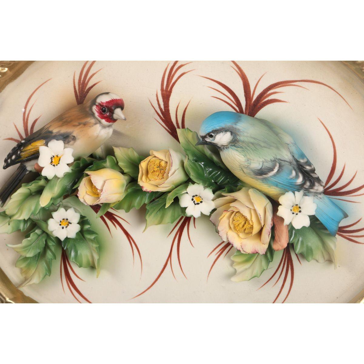 Панно настенное «Пара птиц» Arte Casa (1 штука)