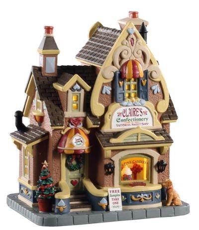 Новогодний домик «Кондитерская Клэр»
