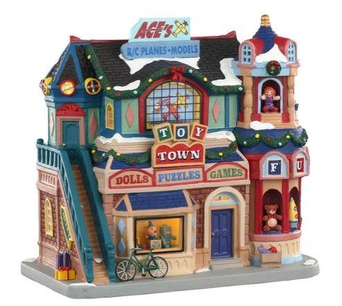 Новогодний домик «Магазин Игрушечный город»