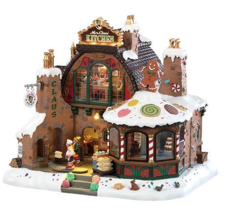 Новогодний домик «Кухня миссис Клаус»
