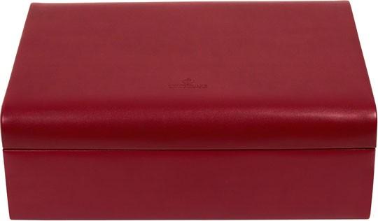 Красная шкатулка для украшений коллекция Merino