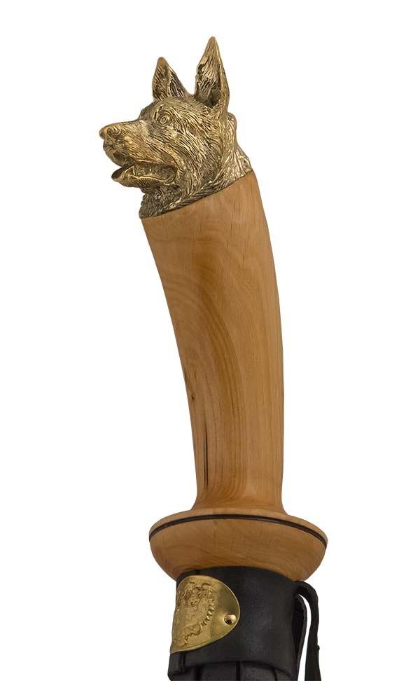 Подарочный набор «Кнут и пряник» с рукоятью в виде животных