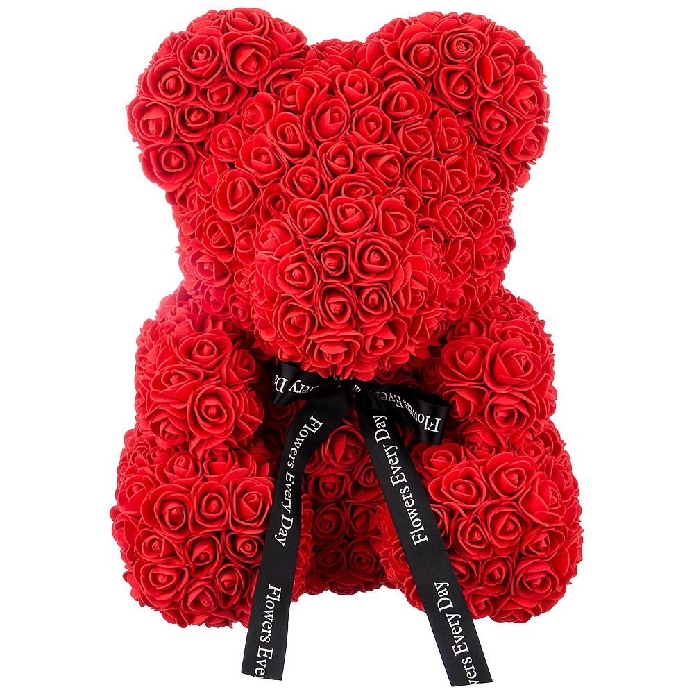 Подарок женщине «Мишка из роз»