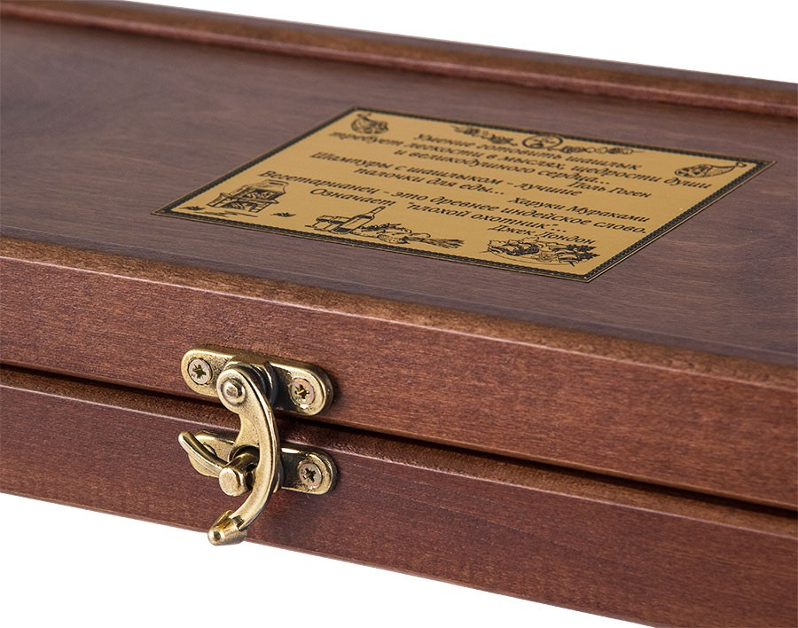 Подарок строителю, шашлычный набор «Строитель» из 6 тематических шампуров